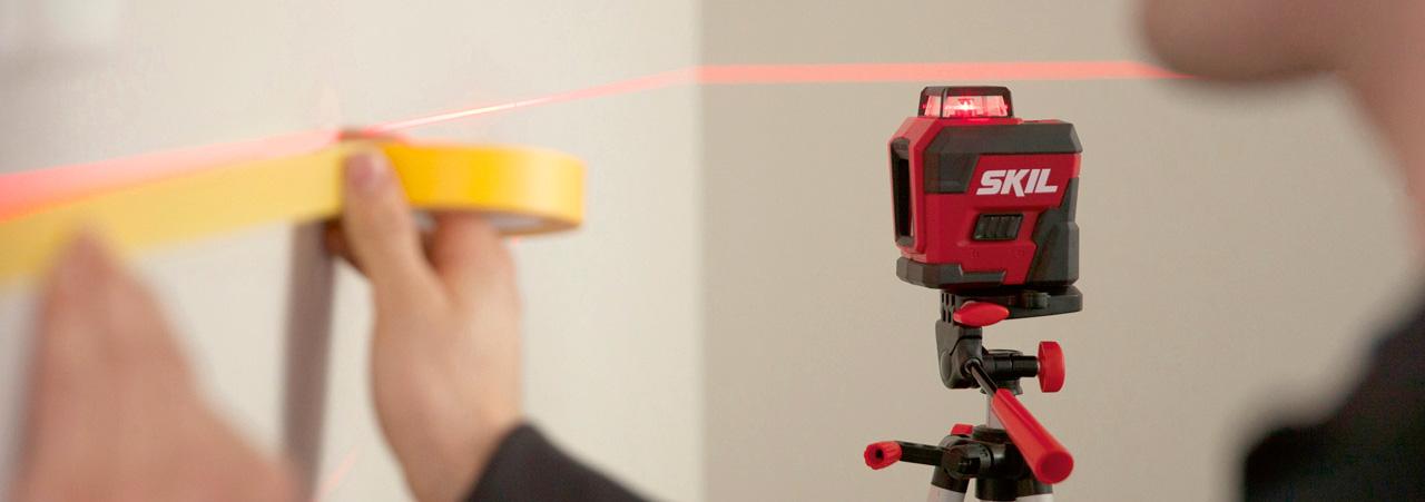 Laser-/mätverktyg