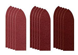 SKIL Fingerformat slippapper med kardborre (87 x 32 mm)
